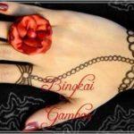 gambar henna cincin dan gelang