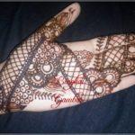gambar henna india pengantin