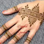 gambar henna india sederhana