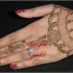gambar henna india terbaru