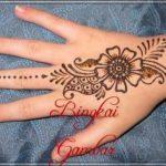 gambar henna india yang cantik