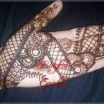 gambar henna india yang simple
