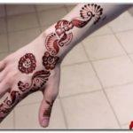 gambar henna lengan simple