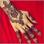 gambar henna model cincin
