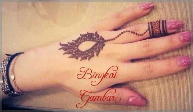 gambar henna motif cincin