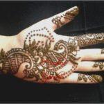 gambar henna motif india