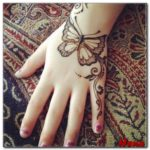 gambar henna tangan hewan