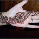 gambar henna tangan india