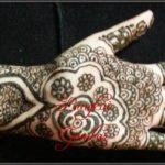 gambar henna tangan orang india