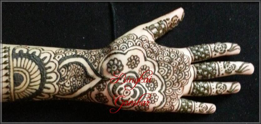 Gambar Henna Tangan Orang India Bingkaigambar Com