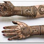 gambar henna tangan sampai lengan