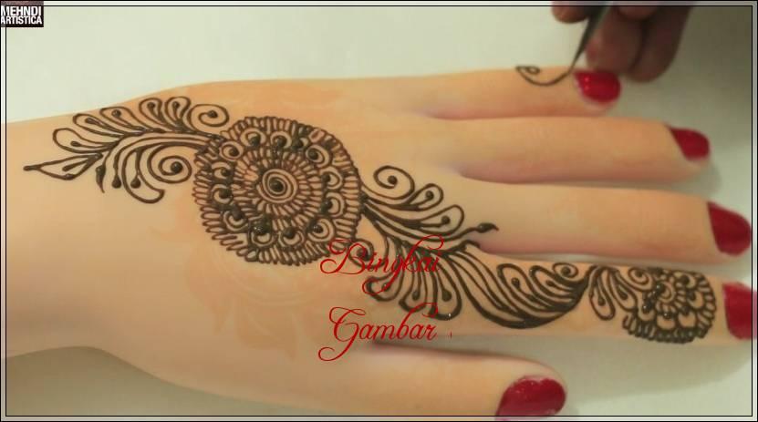 gambar henna tercantik di india