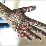 gambar henna tulisan india