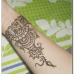 gambar henna untuk lengan