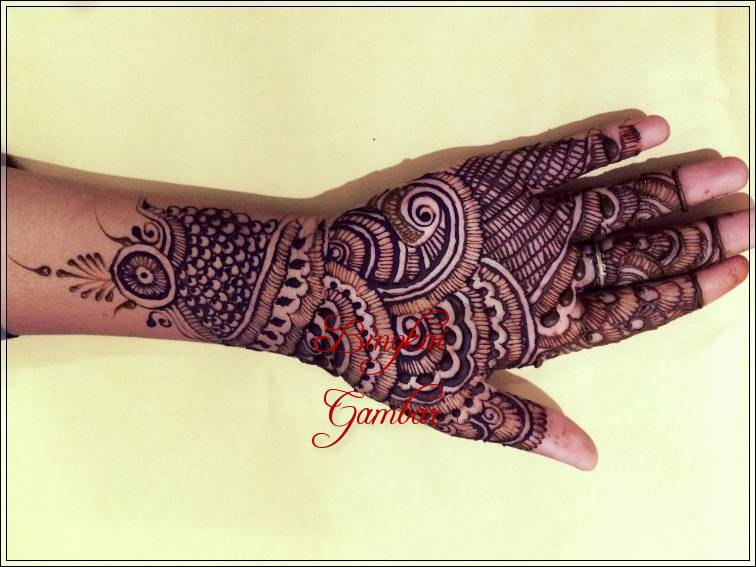 gambar pacar henna india
