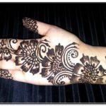 henna lengan simple