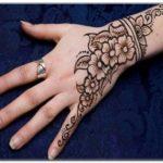 henna lengan tangan simple