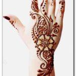 henna simple di lengan tangan