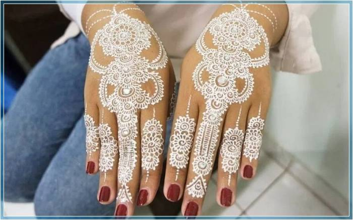 henna untuk kuku yang bagus Terbaru