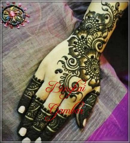 motif henna ala india