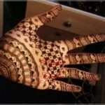 motif henna artis india