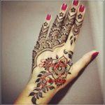 motif henna india terbaru