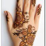 motif henna lengan tangan sederhana