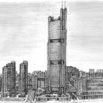 Gambar Sketsa Kota London