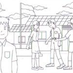 Anime Artist Illustrates The Difference Between Japanese Schoolgirls