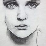 Contoh Sketsa Lukisan Wajah