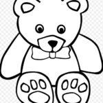 Gambar Sketsa Boneka Beruang