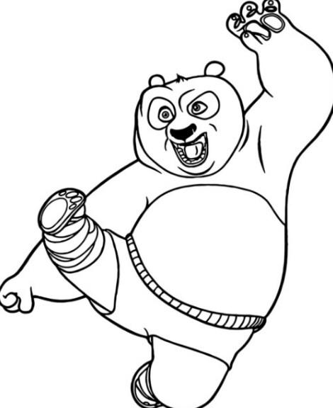 Gambar Sketsa Boneka Panda