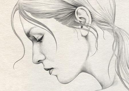 Gambar Sketsa Lukisan Wajah