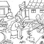 20 Gambar Sketsa Sekolah Tk Sd Dan Sma Terbaru Bingkaigambarcom