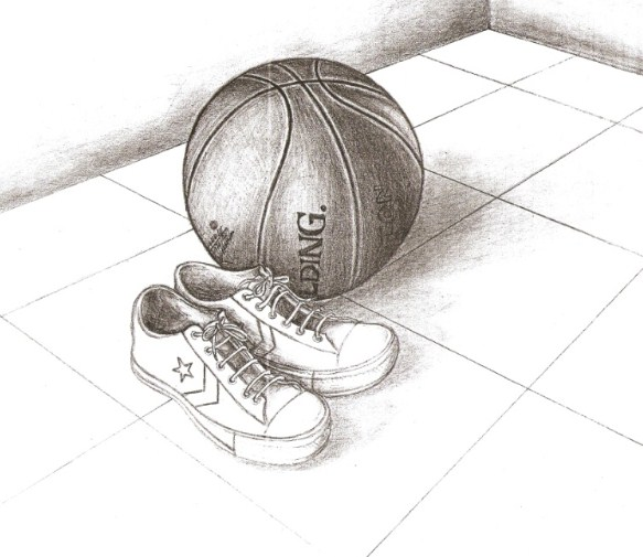 Gambar Sketsa Sepatu Bola