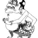 Gambar Sketsa Wayang Bagong