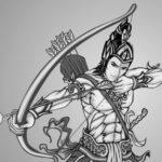 Gambar Sketsa Wayang Modern