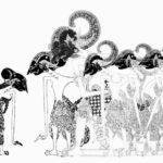 Gambar Sketsa Wayang Pandawa