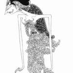 Gambar Sketsa Wayang Perempuan