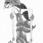 Gambar Sketsa Wayang Srikandi