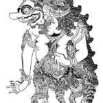 Gambar Sketsa Wayang Tradisional