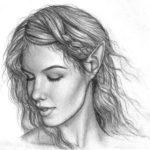 Sketsa Lukisan Wajah Dengan Pensil