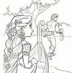 Sketsa Wajah Elsa Frozen