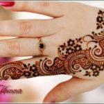 gambar henna kombinasi 2 warna