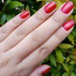 henna kuku merah maroon