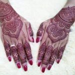 henna kuku warna ungu