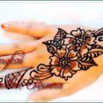 henna simple dua warna