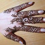 motif henna untuk kuku