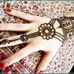 arab indian henna design
