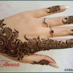 arabic henna simple designs
